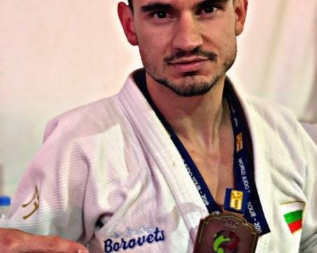 Браво! Джудистът Янислав Герчев с бронз от турнира Гран При в Мароко