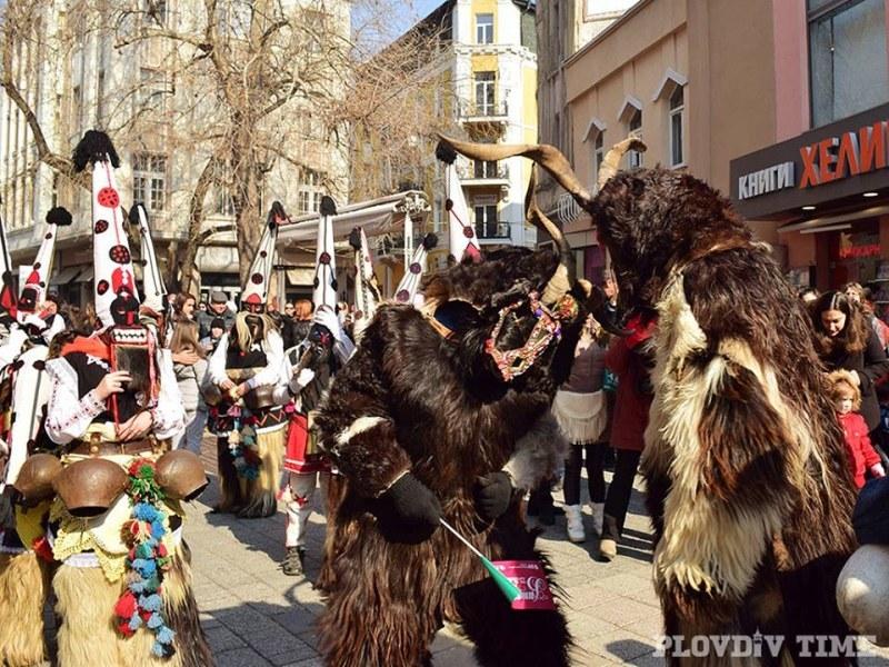 Кукери ще разтърсят днес центъра на Пловдив