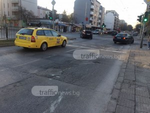 Спират светофар на кръстовище в Кючука днес