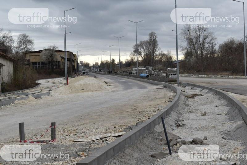 Новият булевард на Пловдив на финалната права, откриват го септември СНИМКИ и ВИДЕО