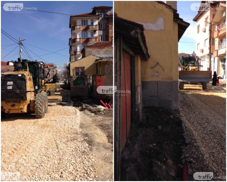 Багери опират до къщите в Аджисана, как ще се извърши ремонтът по 22-милионния проект? СНИМКИ