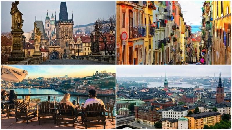 Коя е най-евтината дестинация в Европа за пътуване през уикенда?