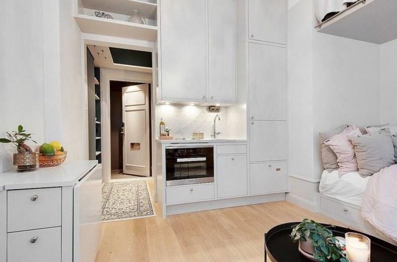 Уютно и практично жилище само от 18 кв. м! Възможно е СНИМКИ