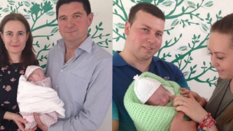 Добре дошли у дома! Изписаха Юлия и Владимир, които се родиха под 1 кг
