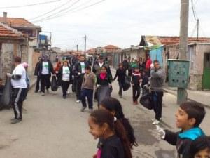 Роми в Бургас на сухо заради борчове, германски евродепутат ги брани