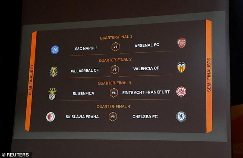 Страхотен сблъсък на четвъртфиналите в Лига Европа