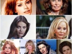 Как възрастта промени известните красавици СНИМКИ