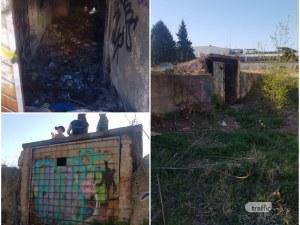 Бункерът в пловдивския парк, който искат да застроят, се ползвал за любовни ласки ВИДЕО
