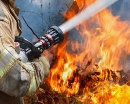 Дядо загина при пожар в Пловдивско, палил треви в имота си
