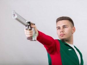 Пловдивчанин с две пети места на европейското по стрелба