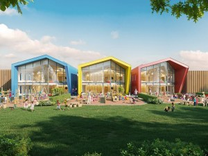 Нова детска градина с разноцветни покривчета ще се появи в