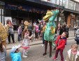 Куклен театър по улиците на София