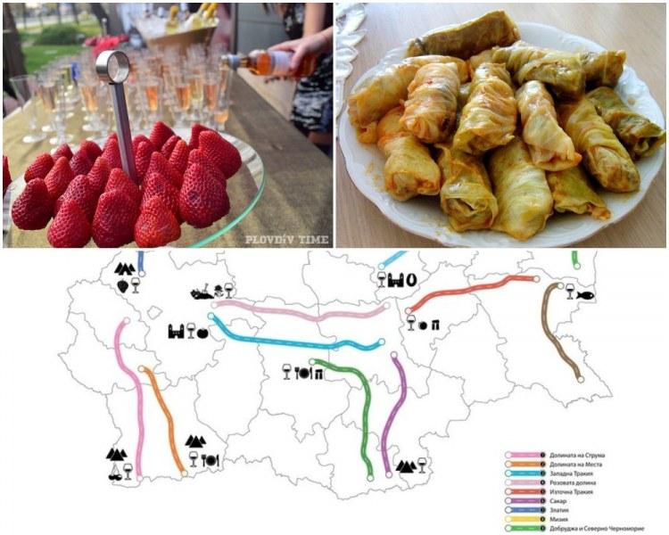 Пловдив е включен в нова интерактивна карта на винено-културни дестинации