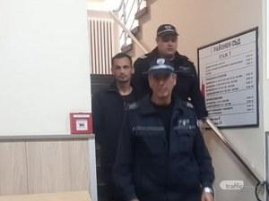 Педофилът, задържан в Пловдив, буйствал в ареста