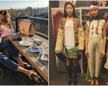 Красиви и работливи: Пловдивчанка модернизира вековния ни български костюм в Милано