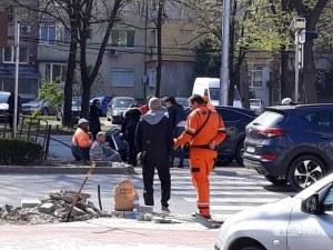 Блъснаха мъж на пешеходна пътека в Пловдив СНИМКИ