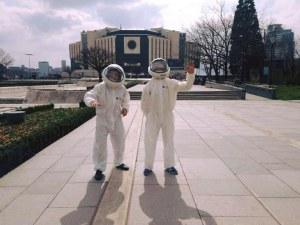Извънземни кацнаха пред НДК... видяха мизерията и скорострелно си тръгнаха