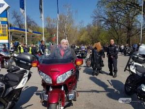 Шефът на полицията и областният управител поведоха шествието на мотористите в Пловдив СНИМКИ