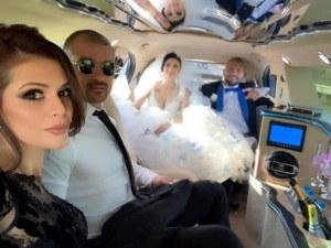 Започна се! Преслава пусна ВИДЕО от сватбата на Софи и Гринго СНИМКИ