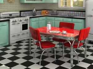Уникални ретро кухни, които вдъхновяват дизайнерите и сега СНИМКИ