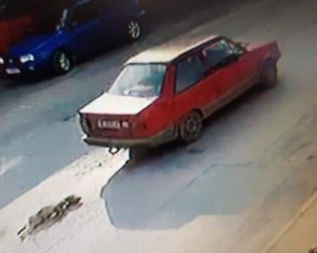Гняв и безсилие! Човешки индивид влачи куче с колата си СНИМКА