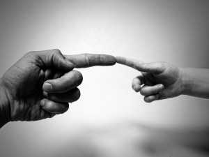 Човешката съвест е част от това, което ни позволява да работим в сътрудничество