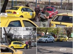 Икономическа полиция блокира таксиметровите стоянки в Пловдив! Влязоха и в сградата на ДАИ