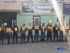 Пловдивска учителка получи уникален подарък за рождения си ден ВИДЕО