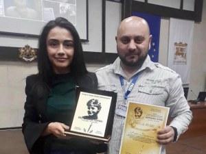 Екипът на TrafficNews с награда от престижен конкурс ВИДЕО