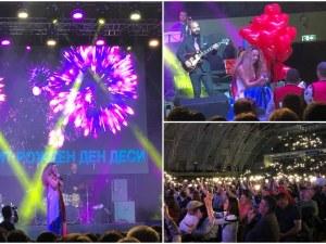Happy Birthday, изсвирено с гайди, за концерта рожден ден на Деси Добрева в Пловдив