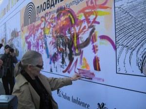 Цветана Манева и световни топстилисти рисуваха с бои за коса в Пловдив