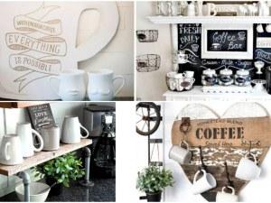 За истинските ценители на кафето: Специален кът в дома