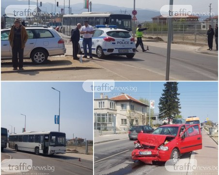 Шофьорът на автобуса от мелето на Коматевско: Жената само повтаряше, че се е разсеяла