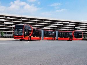 Китайци произведоха най-дългия електрически автобус в света