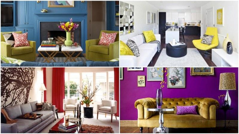 Направете всяка стая в дома си по-цветна с няколко лесни идеи