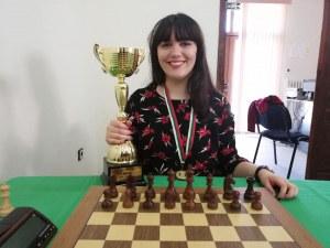 Вики Радева с рекордна титла в шаха