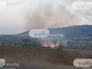 РИОСВ наложи глоби за 22 000 лева в Пловдивско за горене на отпадъци