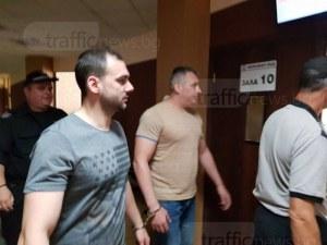 Пловдивските полицаи, обвинени в грабеж и рекет, ще лежат 6 години в затвора