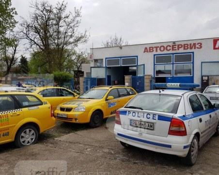 Икономическа полиция и ДАИ влязоха в офисите на таксиметровия бос Мариян Киров