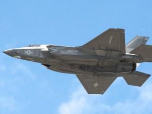Супермодерен изтребител Ф-35 се разби край Япония