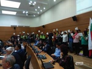 Блокадата на Кършияка засега отпада, ала протестиращи искат среща с Бойко Борисов