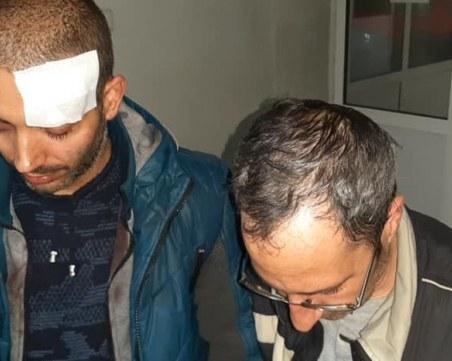 Операторът с разбита глава от Габрово: Палка на жандармерист, а не камък на протестиращ ме удари