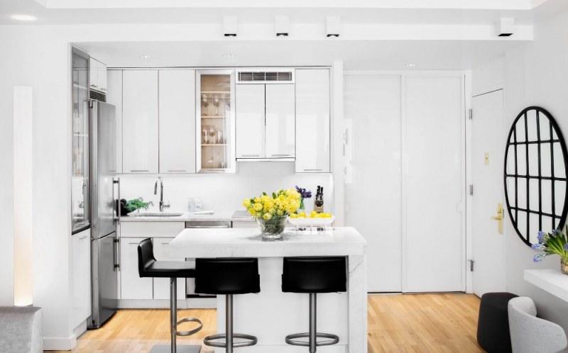 Как да спестите пространство в малка кухня?