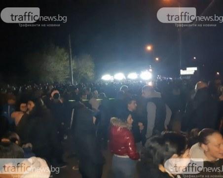 Стотици души се събраха на протест в Габрово! Градът е пълен с жандармерия