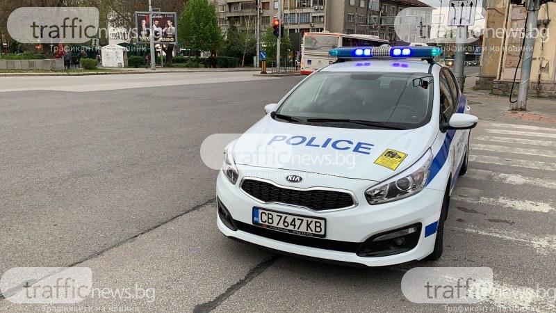 Девет патрулки обградиха Централна гара в Пловдив, затвориха главния вход*