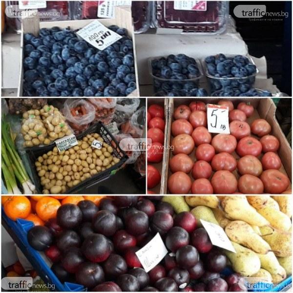 Скъпотия! Пресните картофи на пазара удариха 5 лева, боровинките – 50 лeва