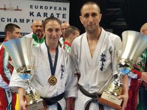 Двама пловдивчани европейски шампиони по карате