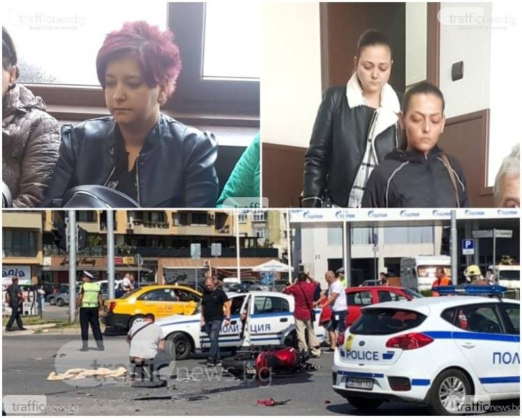 Много сълзи и условна присъда за жената, блъснала и убила моториста Митко в Тракия