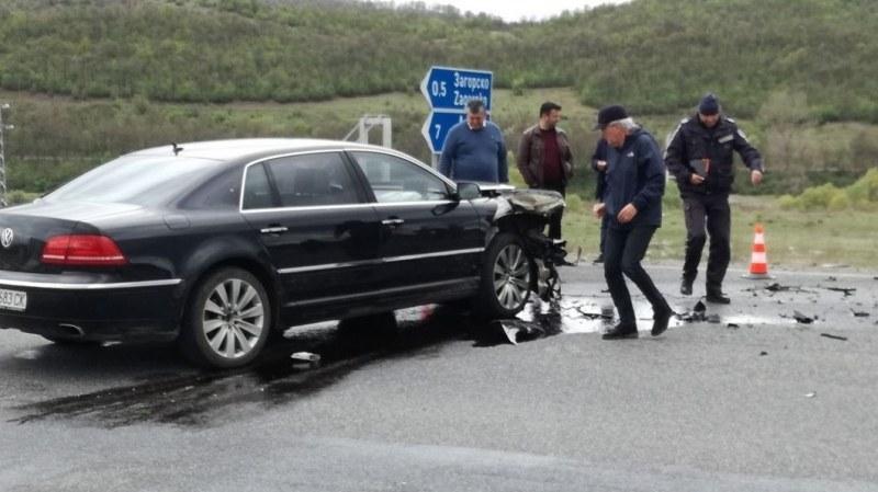 Очевидец: БМВ-то с бебето летеше с над 100 км/ч преди удара с колата на Местан