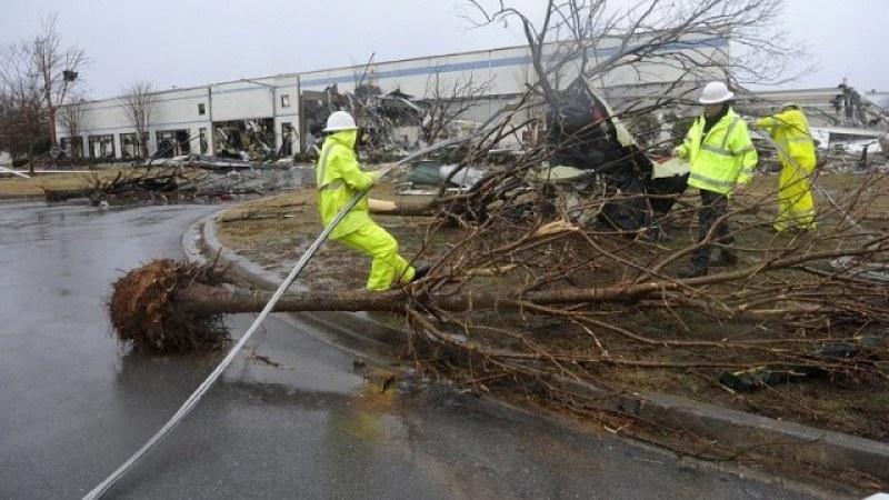 Торнадо отне живота на осем души в САЩ